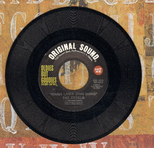 Edsels - Rama Lama Ding Dong/Bells (re-issue) - M10/ - 45 rpm Records