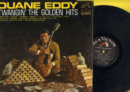 Eddy, Duane - Twangin' The Golden Hits: Rebel Rouser, More, Tequila, Theme From A Summer Place (Vinyl MONO LP record) - NM9/VG7 - LP Records