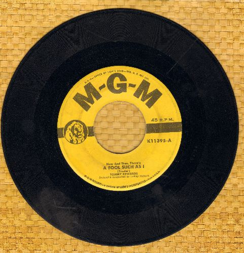 Edwards, Tommy - A Fool Such As I/I Can't Love Another - EX8/ - 45 rpm Records