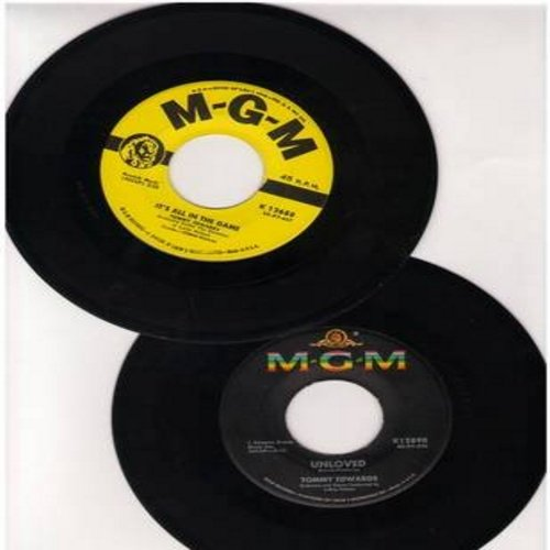 Edwards, Tommy - 2 for 1 Special: It's All In The Game/Unloved (2 original first issue 45rpm records for the price of 1!) - EX8/ - 45 rpm Records