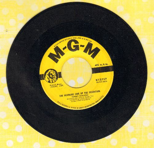 Edwards, Tommy - The Morning Side of the Mountain/Please Mr. Sun (yellow label first issue) - EX8/ - 45 rpm Records