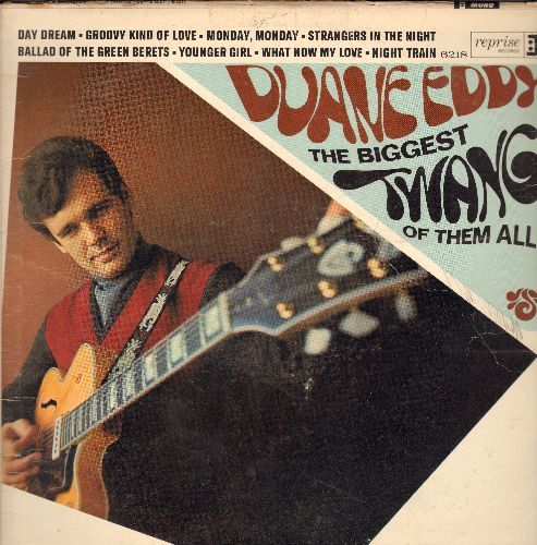 Eddy, Duane - The Biggest Twang Of Them All: Batman, Green Hornet, A Groovy Kind Of Love, Strangers In The Night, Daydream, Mame (vinyl MONO LP record) - G5/VG6 - LP Records