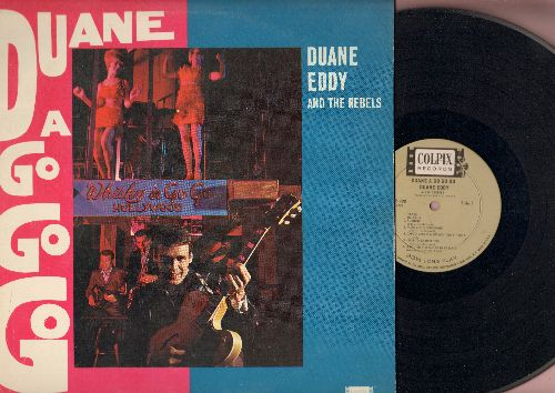 Eddy, Duane - Duane A Go Go Go: Puddin', Moovin' N Groovin', Around The Block In 80 Days, Busted, I'm Blue, Dream Lover (Vinyl MONO LP record) - EX8/VG7 - LP Records
