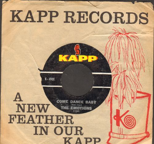Emotions - Come Dance Baby/Echo (with juke box label) - EX8/ - 45 rpm Records