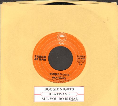 Heatwave - Boogie Nights/All You Do Is Dial (with juke box label) - NM9/ - 45 rpm Records