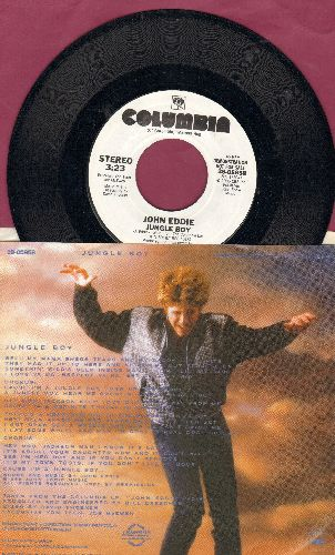 Eddie, John - Jungle Boy (double-A-sided DJ advance pressing with picture sleeve) - NM9/EX8 - 45 rpm Records