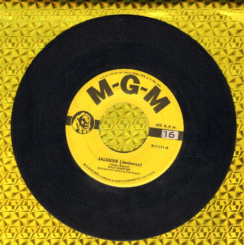 Eckstine, Billy - Jealousie (Jealousy)/Strange Interlude - VG7/ - 45 rpm Records