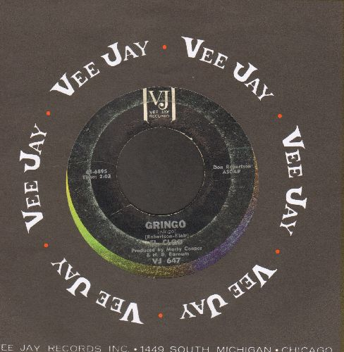 El Clod - Gringo (Answer to -Ringo-)/Tijuana Watusi? (with Vee Jay company sleeve) - VG6/ - 45 rpm Records
