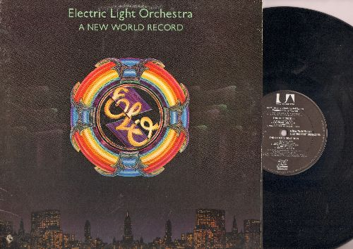 Electric Light Orchestra - A New World Record: Livin' Thing, Telephone Line, So Fine, Above The Clouds (vinyl STEREO LP record) - EX8/VG7 - LP Records