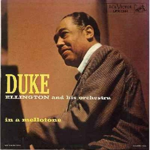 Ellington, Duke & His Orchestra - In A Mellotone: Take The -A- Train, I Got It Bad (And That Ain't Good), Rumpus In Richmond, Cotton Tail (Vinyl MONO LP record) - NM9/EX8 - LP Records