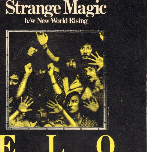 Electric Light Orchestra - Strange Magic/New World Rising (with pictre sleeve) - NM9/EX8 - 45 rpm Records