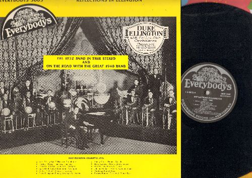 Ellington, Duke & His Orchestra - The 1932 Band in True Stereo and on the road with the Great 1940 Band: Boy Meets Horn, Jig Walk, Warm Valley (vinyl LP record, re-issue of vintage recordings) - NM9/EX8 - LP Records