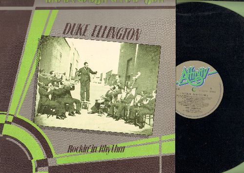 Ellington, Duke - Rockin' In Rhythm: Immigration Blues, Creole Rhapsody, Cotton Club Stomp, The Mooche (vinyl LP record, British re-issue of vintage Jazz recordings) - NM9/NM9 - LP Records