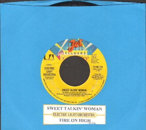Electric Light Orchestra - Sweet Talkin' Woman/Fire On High (with juke box label) - VG7/ - 45 rpm Records