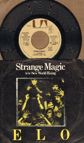 Electric Light Orchestra - Strange Magic/New World Rising (with picture sleeve) - NM9/VG6 - 45 rpm Records