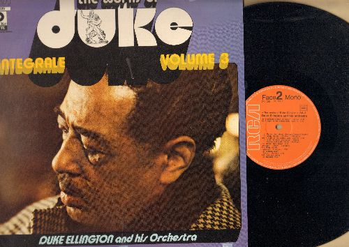 Ellington, Duke & His Orchestra - The Works Of Duke Vol. 3: Japanese Dream, Sloppy Joe, Stevesdore Stomp, Saratoga Swing (vinyl LP record, 1972 French Pressing) - NM9/EX8 - LP Records