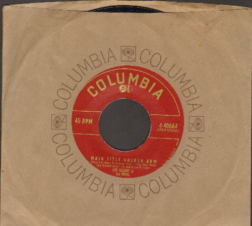 Elgart, Les & His Orchestra - Main Title - Golden Arm/D. J. Jamboree (with vintage Columbia company sleeve) - EX8/ - 45 rpm Records