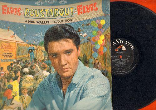 Presley, Elvis - Roustabout - Original Motion Picture Soundtrack: It's A Wonderful World, Big Love Big Heartache, One Track Heart (vinyl MONO LP record) - VG7/VG7 - LP Records