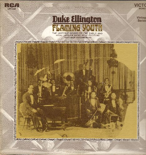Ellington, Duke - Flaming Youth: Black And Tan Fantasie, The Mooche, Creole Love Call, Black Beauty, I Must Have That Man (vinyl LP record, 1969 issue of vintage Jazz recordings) - NM9/NM9 - LP Records
