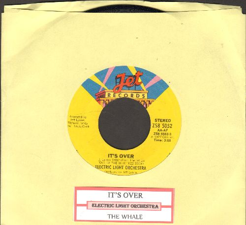 Electric Light Orchestra - It's Over/The Whale (with juke box label) - NM9/ - 45 rpm Records
