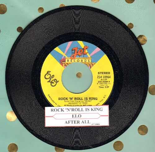 Electric Light Orchestra - Rock 'N' Roll Is King/After All (with juke box label) - NM9/ - 45 rpm Records