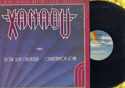 Electric Light Orchestra & Olivia Newton-John - Xanadu: Original Movie Sound Track - vinyl LP record featuring songs by Olivia Newton-John (gate-fold cover) - NM9/EX8 - LP Records