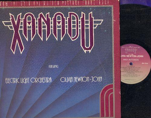 Electric Light Orchestra, Olivia Newton John - Xanadu - Original Motion Picture Soundtrack (vinyl LP record, gate-fold cover) - VG7/EX8 - LP Records