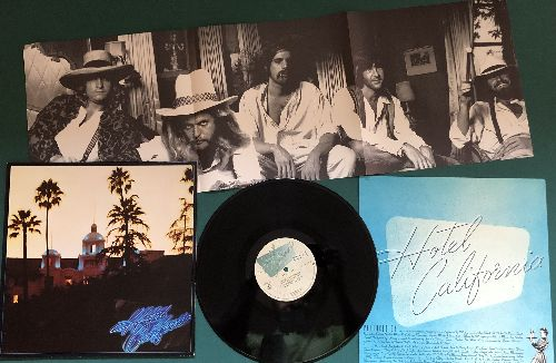 Eagles - Hotel California: New Kid In Town, Pretty Maids All In A Row (vinyl STEREO LP record with BONUS Poster!) - NM9/NM9 - LP Records