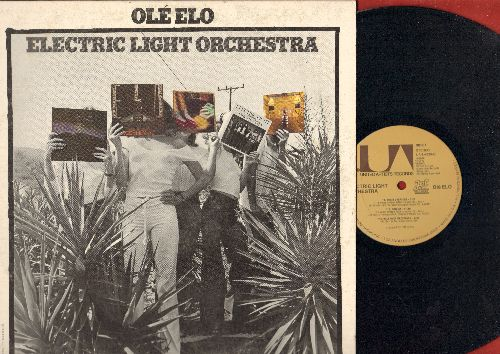 Electric Light Orchestra - Ole ELO: Strange Magic, Can't Get It Out Of My Head, Roll Over Beethoven, Evil Woman (vinyl STEREO LP record) - NM9/EX8 - LP Records