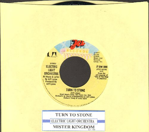 Electric Light Orchestra - Turn To Stone/Mister Kingdom (with juke box label) - NM9/ - 45 rpm Records