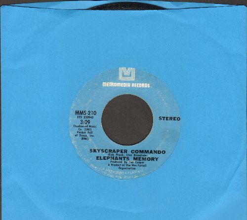 Elephant's Memory - Scyscraper Commando/Power - VG7/ - 45 rpm Records