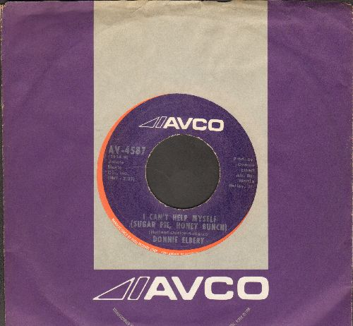Elbert, Donnie - I Can't Help Myself (Sugar Pie, Honey Bunch)/Love Is Here And Now You're Gone (with RARE Avco company sleeve) - NM9/ - 45 rpm Records