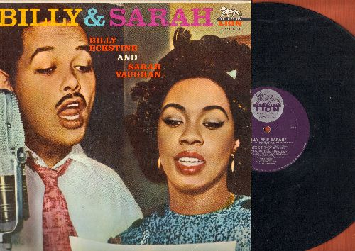Eckstine, Billy & Sarah Vaughan - Billy & Sarah: Dedicated To You, A Hundred Years From Today, Kiss Of Fire, You're Not The Kind (vinyl MONO LP record) - VG7/EX8 - LP Records