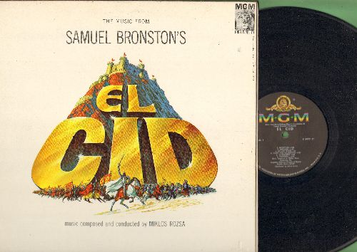 El Cid - El Cid - Original Motion Picture Sound Track, Music composed and conducted by Miklos Rozsa (Vinyl STEREO LP record, gate-fold cover) - NM9/NM9 - LP Records