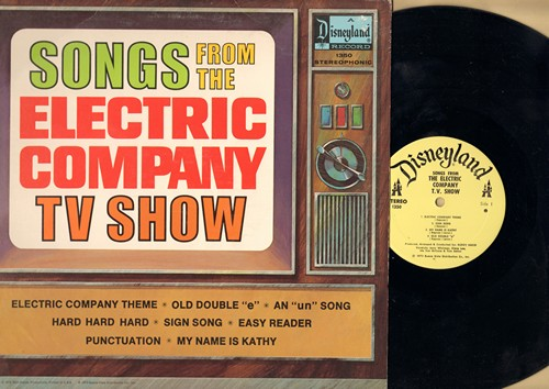Disney - Songs From The Electric Company TV Show: Easy Reade, Punctuation, Electric Company Theme (Vinyl STEREO LP record) - NM9/EX8 - LP Records
