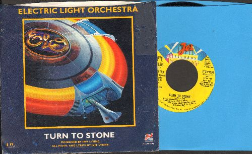 Electric Light Orchestra - Turn To Stone/Mister Kingdom (with picture sleeve) - NM9/EX8 - 45 rpm Records