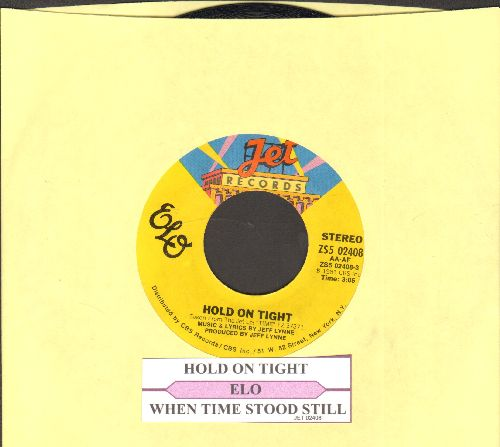 Electric Light Orchestra - Hold On Tight/When Time Stood Still (with juke box label) - NM9/ - 45 rpm Records