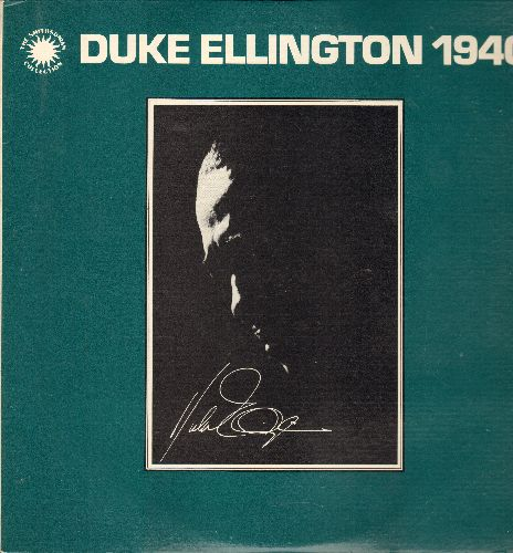 Ellington, Duke - Duke Ellington 1940 - Conga Brava, Cotton Tail, Harlem Airshaft, Body & Soul< Sophisticated Lady (2 vinyl LP records in gatefold cover with picture pages, 1978 re-issue of vintage Jazz recordings) - NM9/NM9 - LP Records