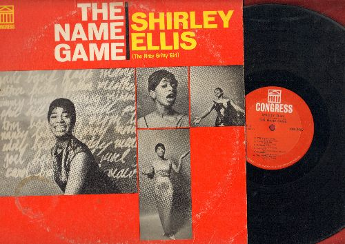 Ellis, Shirley - The Name Game: The Nitty Gritty, Stagger Lee, Bring It On Home To Me (vinyl MONO LP record) - VG7/VG7 - LP Records