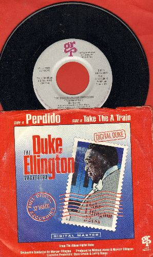 Ellington, Duke, Count Basie Orchestra - Take The A Train/Perdido (with picture sleeve) - NM9/VG7 - 45 rpm Records