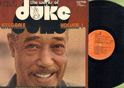 Ellington, Duke & His Orchestra - The Works Of Duke Vol. 1: Washington Wobble, East St. Louis Toodle-oo, Harlem River Quiver, Creole Love Song (vinyl LP record, 1972 French Pressing, shrink wrap) - NM9/NM9 - LP Records