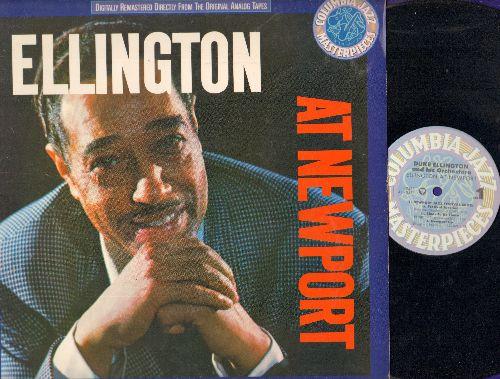 Ellington, Duke & His Orchestra - Ellington At Newport: Jeep's Blues, Diminuendo And Crescendo In Blue (vinyl LP record, re-issue of vintage Jazz recordings) - NM9/NM9 - LP Records