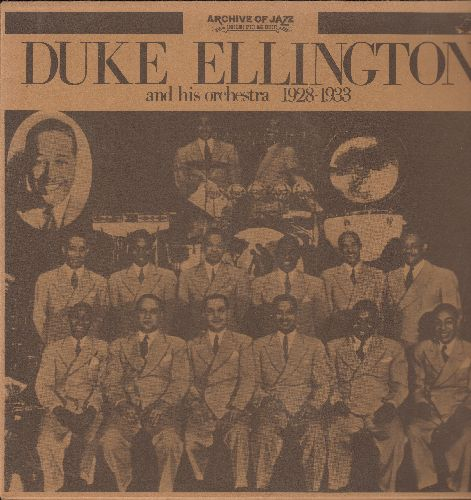 Ellington, Duke & His Orchestra - Duke Ellington 1928-1933: Black Beauty, Sweet Mama, Accordion Joe, Delta Bound, Bundle Of Blues (vinyl LP record, 1971 Italian re-issue of vintage Jazz recordings) - NM9/NM9 - LP Records