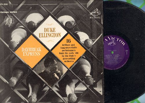 Ellington, Duke - Daybreak Express: Dinah, Bugle Call Rag, Ebony Rhapsody, Troubled Waters  (vinyl LP record, 1964 issue of vintage Jazz recordings) - NM9/EX8 - LP Records