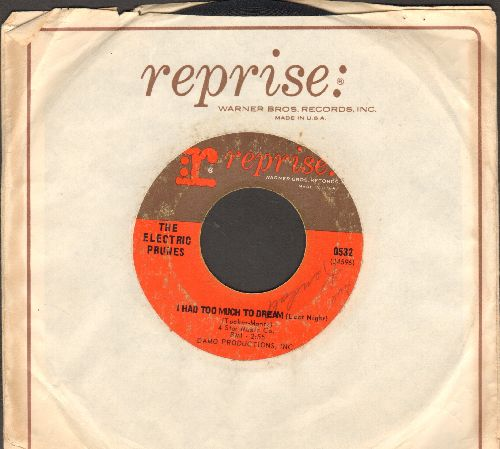 Electric Prunes - I Had Too Much To Dream (Last Night)/Luvin (with Reprise company sleeve) - VG6/ - 45 rpm Records