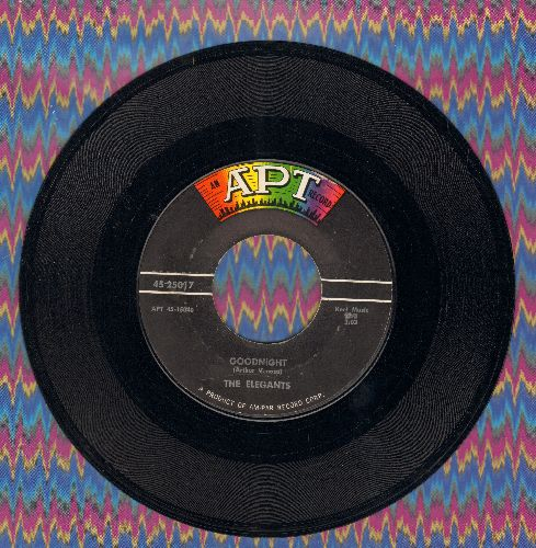 Elegants - Goodnight/Please Believe Me - VG7/ - 45 rpm Records