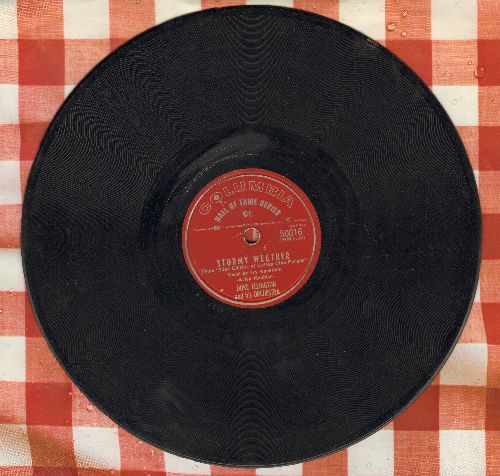 Ellington, Duke & His Orchestra - Stormy Weather/Sophisticated Lady (10 inch 78 rpm record) - VG7/ - 78 rpm