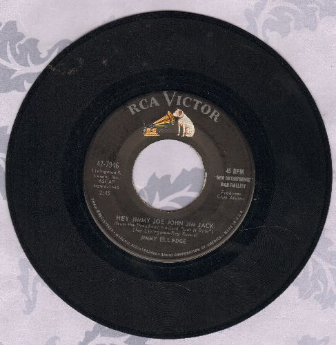 Elledge, Jimmy - Funny How Time Slips Away/Hey Jimmy Joe John Jim Jack  - EX8/ - 45 rpm Records