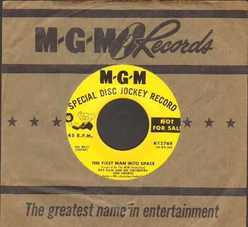 Ellis, Ray & His Orchestra & Chorus - The First Man Into Space/Mad - EX8/ - 45 rpm Records