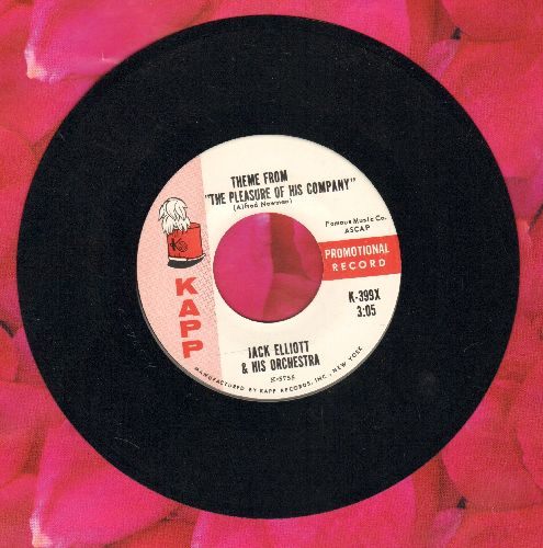 Elliot, Jack & His Orchestra - Theme From -The Pleasure Of His Company-/The Fall Of The Year - NM9/ - 45 rpm Records